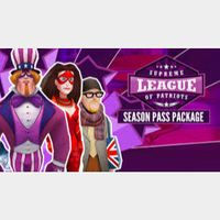 Supreme League of Patriots Season Pass Steam Key GLOBAL instant Delivery!!!