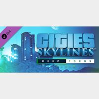 Cities: Skylines - Deep Focus Radio DLC Steam Key GLOBAL Instant Delivery!!!