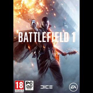 Battlefield 1 Origin Key GLOBAL Instant Delivery!!!