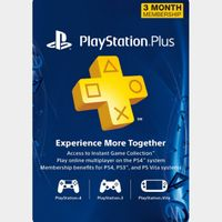 3 Month Playstation Plus Membership US Instant Delivery!!!