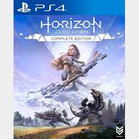 Horizon Zero Dawn Complete Edition PS4 Key NORTH AMERICA Instant Delivery!!!