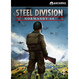 Steel Division: Normandy 44 Steam Key GLOBAL Instant Delivery!!!