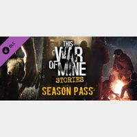 This War of Mine: Stories - Season Pass DLC Key Steam PC GLOBAL Instant Delivery!!!