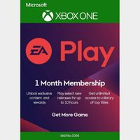 1 MONTH EA PLAY (TRIAL) SUBSCRIPTION XBOX Live Key Global Instant Delivery!!!