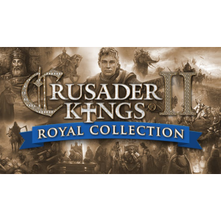 Crusader Kings II: Royal Collection Steam Key Global Instant Delivery!!!
