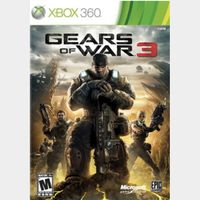 GEARS OF WAR 3 Xbox One Xbox 360 Key GLOBAL Instant Delivery!!!