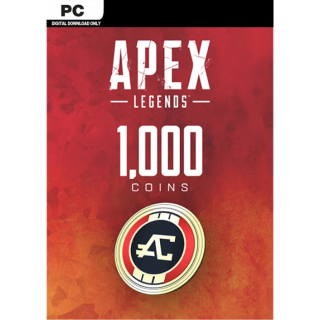 Apex Legends 1000 Apex Coins Origin Key Global Instant Delivery!!!
