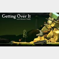 Getting Over It with Bennett Foddy Steam Key GLOBAL Instant Delivery!!!
