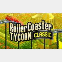 RollerCoaster Tycoon Classic Steam Key GLOBAL Instant Delivery!!!