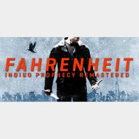 Fahrenheit: Indigo Prophecy Remastered Steam Key GLOBAL Instant Delivery!!!