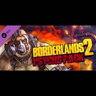 Borderlands 2 Psycho Pack DLC - Steam Key GLOBAL
