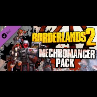 Borderlands 2: Mechromancer Pack DLC - Steam Key GLOBAL