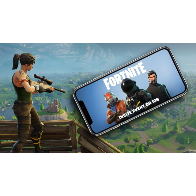 Fortnite Mobile: iOS (Automatic Delivery) - Mobile Games