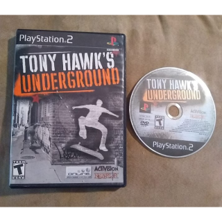 Tony Hawk's Underground - PS2 (Playstation 2, 2003) CIB  ~Like New~