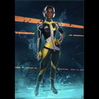 Hyper Scape:Corsair Champion Skin