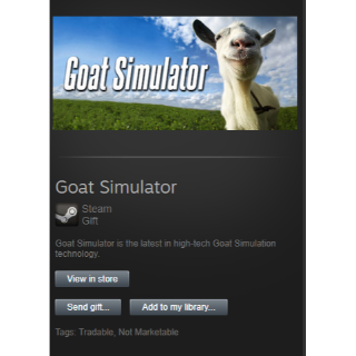 Goat Simulator Gift