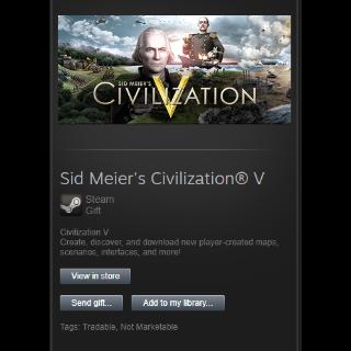 Sid Meier's Civilization® V Gift