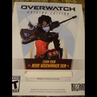 [PC] Overwatch Origins Noire Widowmaker Skin DLC
