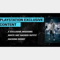 Watch Dogs PlayStation Exclusive Content