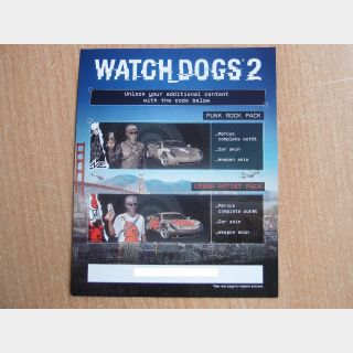 Watch Dogs 2 - Punk Rock and Urban Artist bundle PS4