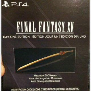 Final Fantasy XV Masamune DLC Weapon | PS4
