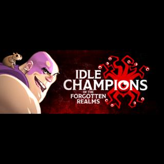 Idle Champions of the Forgotten Realms Celeste's Starter Pack Key 20$ Value