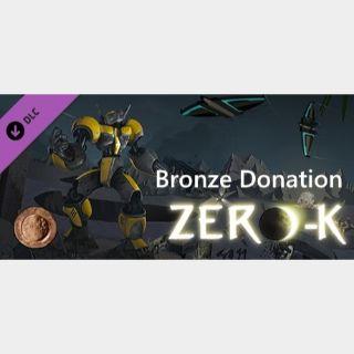 Zero-K $9.99 Bronze Pack Key