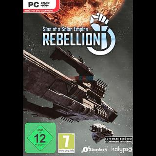 Sins of a Solar Empire: Rebellion   Steam  
