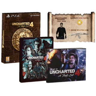 Uncharted 4: A Thief's End - LOOT (NOT THE GAME)