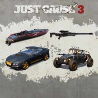 Just Cause 3 : Weaponized Vehicle Pack + Capstone Bloodhound