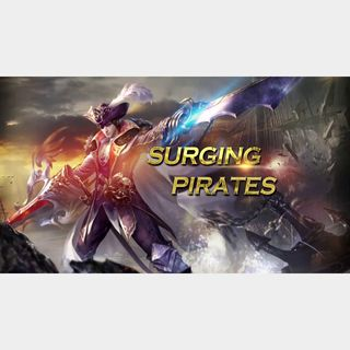 Conquer Online Surging Pirates Overlord Pirate Pack + Novice Equipment Pack