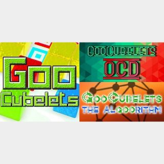 GooCubelets 3 Pack: GooCubelets + The Void + The Algoorithm Steam Key