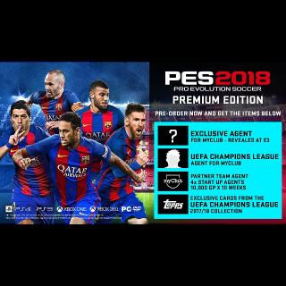 PES 2018 Premium Edition Upgrade
