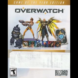 Overwatch Origins Edition Digital Goodies x20pcs