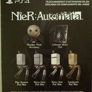 Nier Automata Preorder Bonus (Day One DLC) PS4