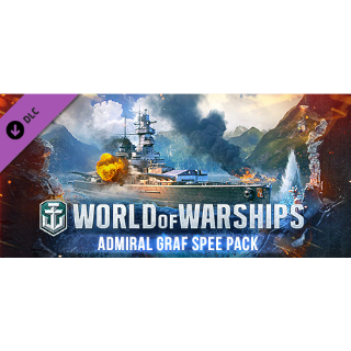 World Of Warships - Admiral Graf Spee Pack Code (Global Code/Instant Delivery)