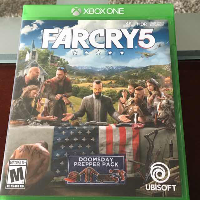 Far Cry 5 (Season Pass Included) - XBox One Games (Like New) - Gameflip