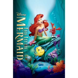 The Little Mermaid CANADA ONLY 4K