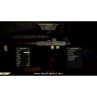 Weapon | TS/E/+MWA Gattling Gun