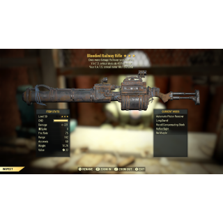 Weapon | B/+CRIT/CMFF Rail Rifle