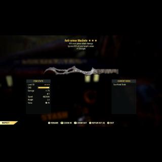 Weapon | AA/+PAD/+S Machete