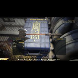 Weapon | B/PAD/+1A GROGNAK