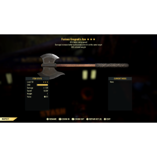 Weapon | F/+SS/RW Grognak's Axe