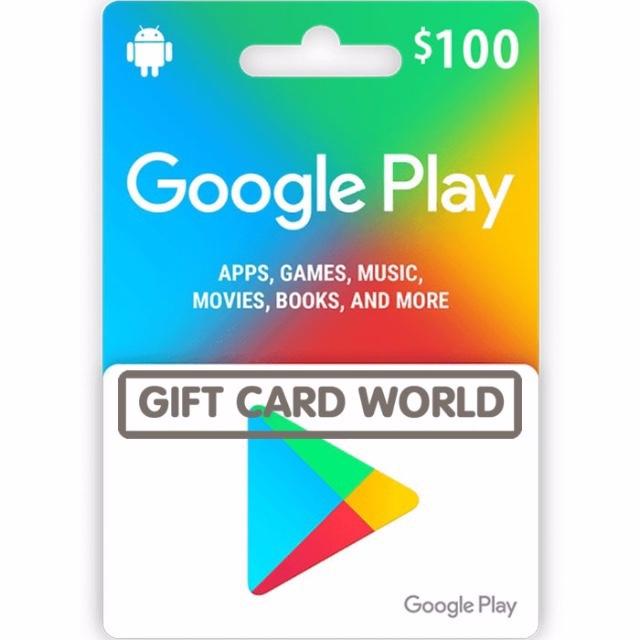 💲100.00 Google Play - GCW - Fast&Easy💲