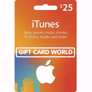 💲25.00 iTunes - GCW - Fast&Easy💲
