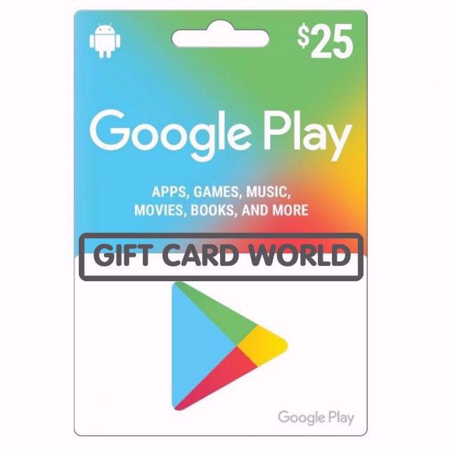 💲25.00 Google Play - GCW - Fast&Easy💲