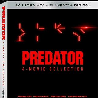 Predator 4 Movie Collection 4K