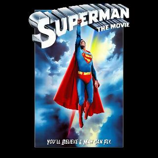 Superman The Movie 4K MA/VUDU