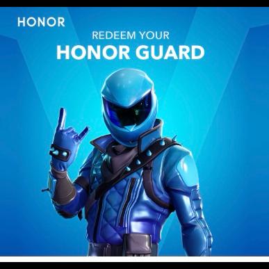 Code Fortnite Honor Guard In Game Items Gameflip