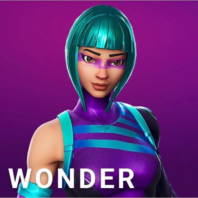 Fortnite Wonder Skin Code Inspire Outfit Ps4 Games